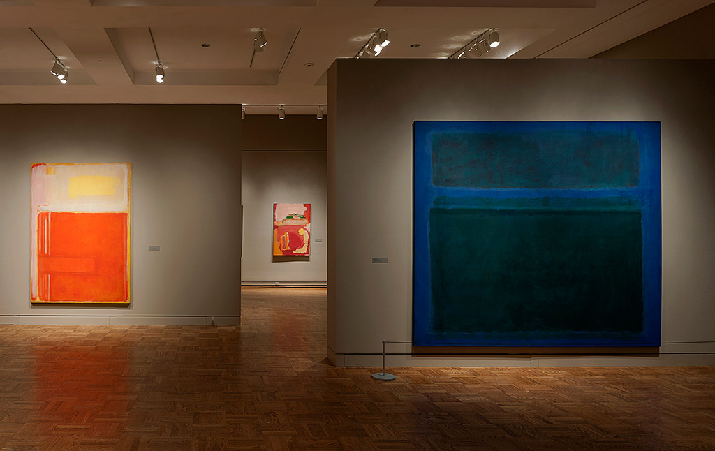 Rothko Exhibition at the Portland Art Museum, 2012