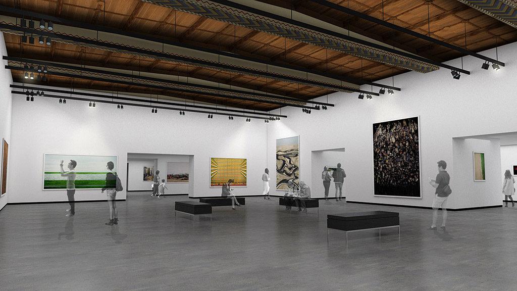 View of Crumpacker Center for New Art