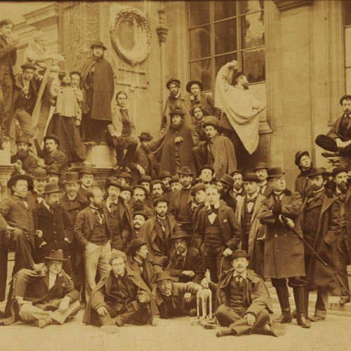 Photographer Unknown, Studio of Gustave Moreau at the École des Beaux- Arts, ca. 1892-98, Albumen print, 6 13/16 x 9 in., École des Beaux-Arts, Paris (Ph 8693), Courtesy American Federation of Arts.