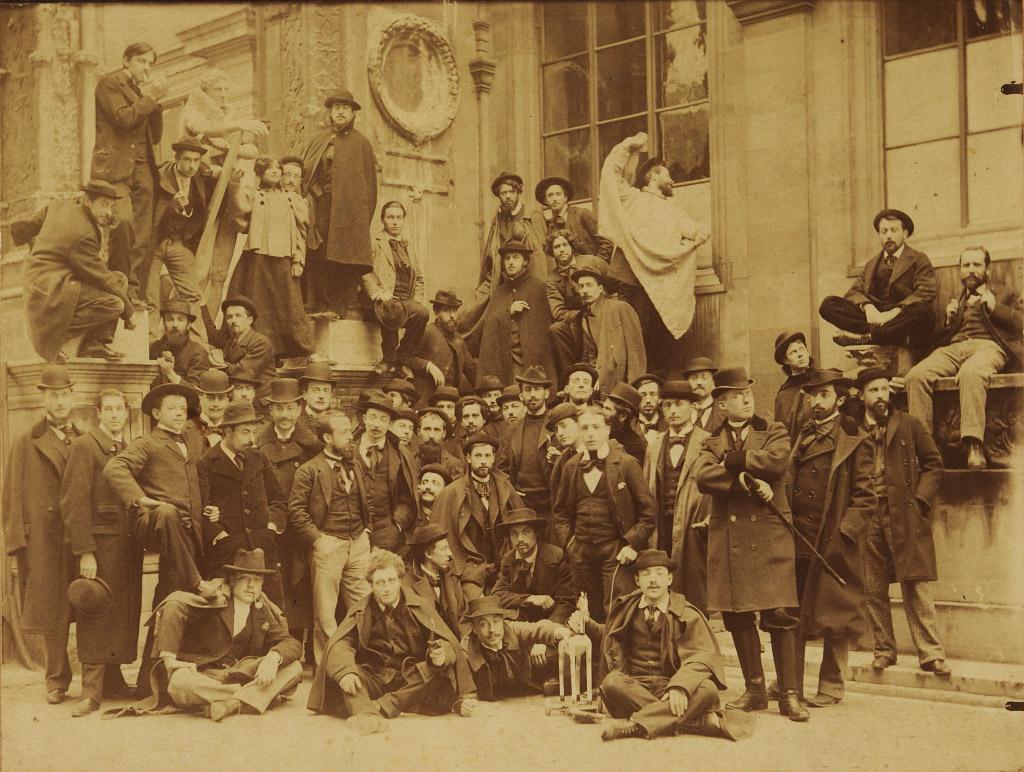 Photographer Unknown, Studio of Gustave Moreau at the École des Beaux-Arts, ca. 1892-98