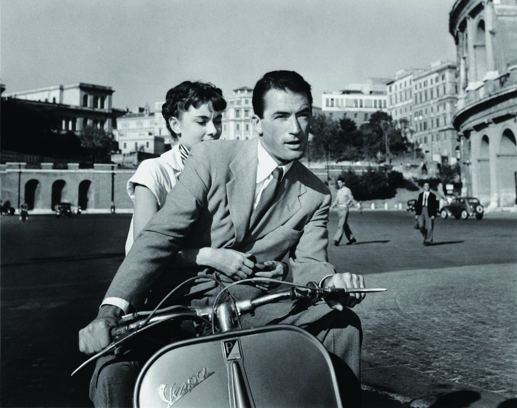 Roman Holiday, 1953, Chromogenic print, Courtesy of Paramount Pictures;