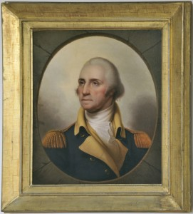 Rembrandt Peale (American, 1778-1860), George Washington, ca. 1850, oil on canvas, Gift of Veronica A. Macdonald and Valerie A. Story, no known copyright restrictions, 2010.7.