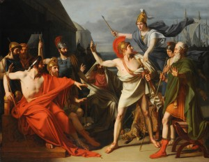 Michel-Martin Drolling, The Wrath of Achilles