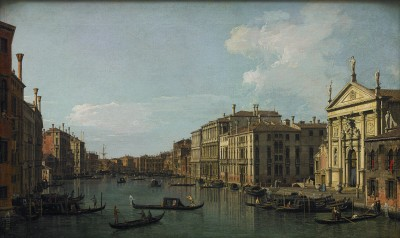 Giovanni Antonio Canal, known as Canaletto, The Grand Canal, Venice, Looking South-East from San Stae to the Fabbriche Nuove di Rialto