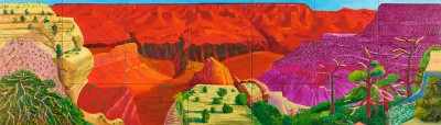 David Hockney, The Grand Canyon