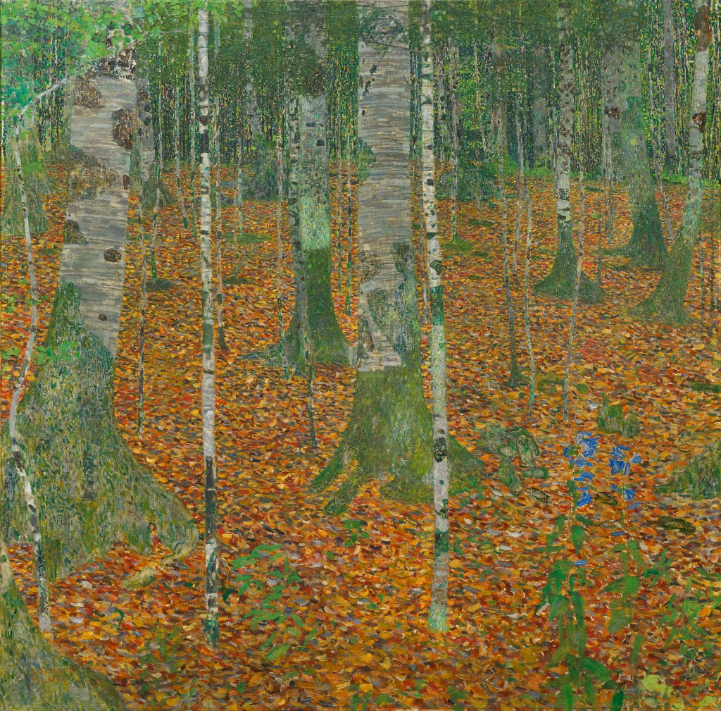 Gustav Klimt, Birch Forest
