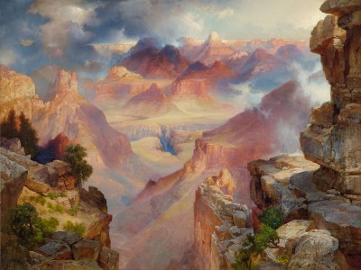 Thomas Moran, Grand Canyon of Arizona at Sunset