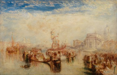 Joseph Mallord William Turner, Depositing of John Bellini's Three Pictures in La Chiesa Redentore, Venice