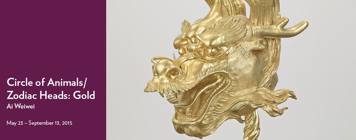 Circle of Animals/Zodiac Heads: Gold — Ai Weiwei