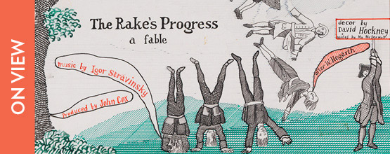 David Hockney: A Rake's Progress