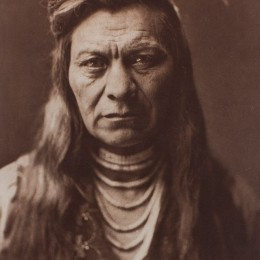 Edward Curtis, Black Eagle, Nez Percé, 1911