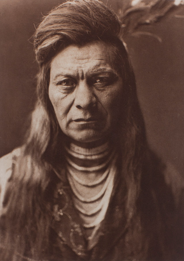 Edward Curtis, Black Eagle, Nez Percé, 1911