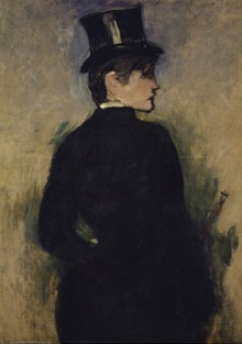 Edouard Manet (French, 1832–1883) Amazone de profil (Profile of an Equestrienne), 1882