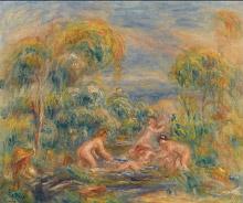 Pierre Auguste Renoir, Étude de baigneuses (Study of Bathers)