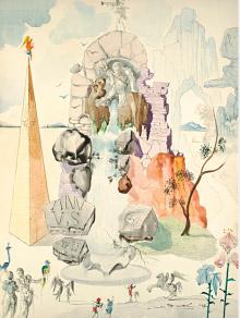 Salvador Dalí, Neptune, 1947