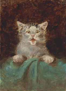 Henri de Toulouse-Lautrec, Un petit chat (Little Cat)