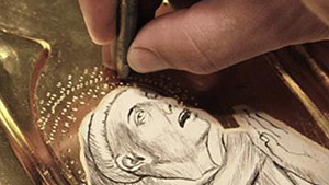 Conservation Projects: Crivelli's St. Francis Receiving the Stigmata: Renaissance paint layers