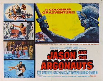 Jason and the Argonauts (1963) film poster