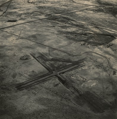 Emmet Gowin, Abandoned Air Strip, Old Hanford City Site, Hanford Nuclear Reservation near Richland, Washington