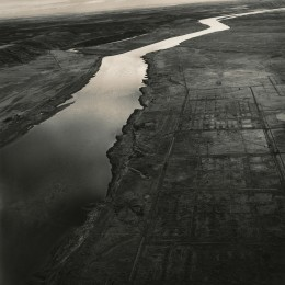 Emmet Gowin, Old Hanford City Site and the Columbia River, Hanford Nuclear Reservation, near Richland, Washington
