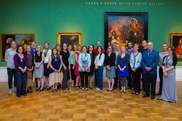 Museum hosts national art history teaching seminar
