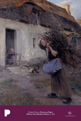 Elizabeth Nourse, Femme aux Fagots (Woman with a Bundle of Sticks), ca. 1899