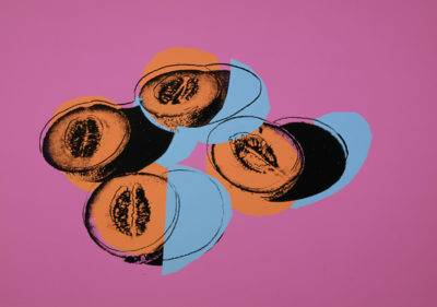 Andy Warhol, Space Fruit: Still Lifes, Cantaloupes II (II.198), 1979