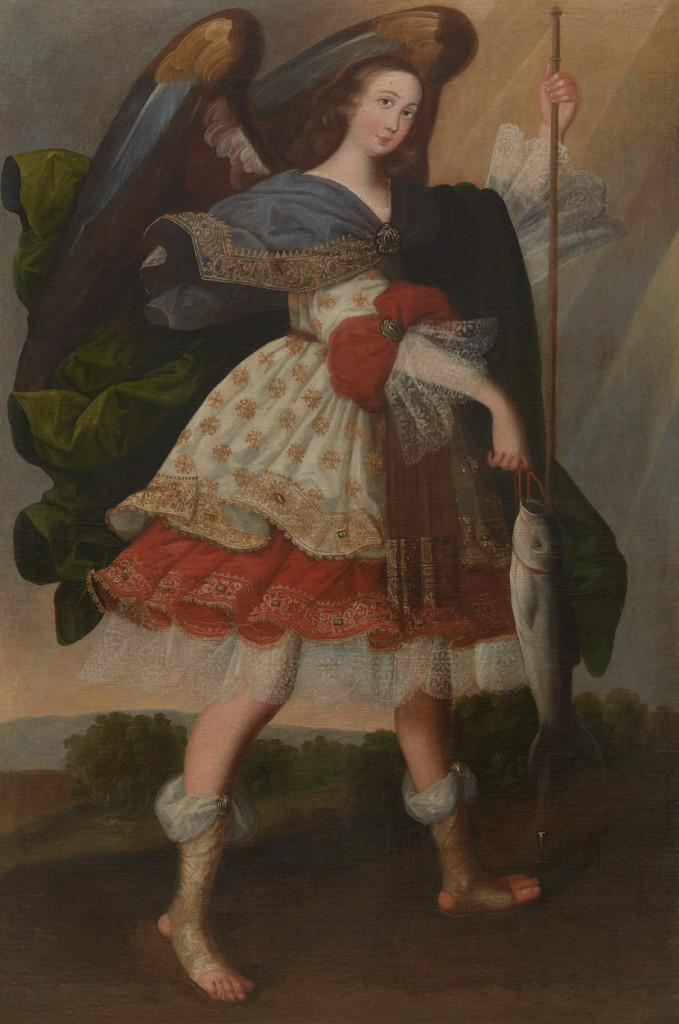 Archangel Raphael with Fish