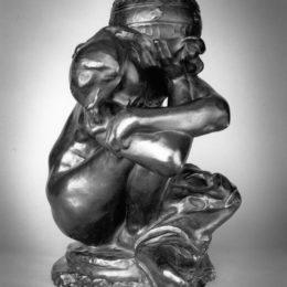 Auguste Rodin, Fallen Caryatid with Urn