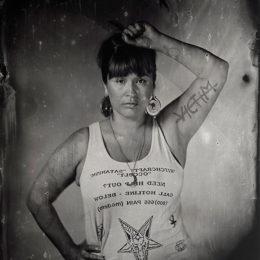 Kali Spitzer (Kaska Dena/Jewish; Canadian, b. 1987), Sasha LaPointe II, 2014, image courtesy of artist.