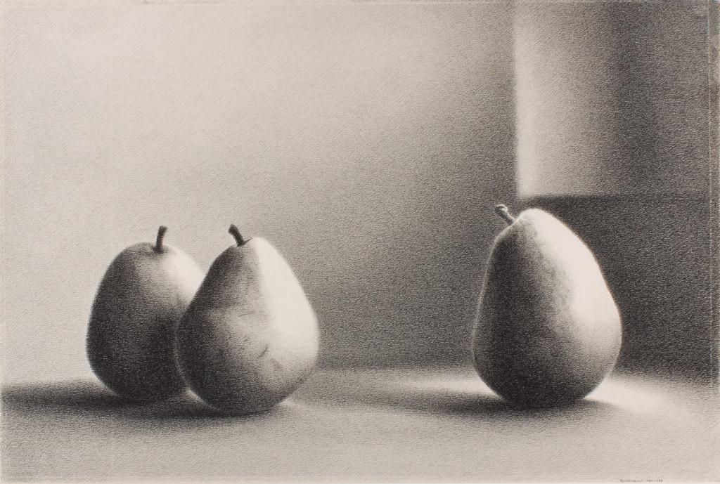 Martha Alf, Pears Series XIII #2, 1984-1985