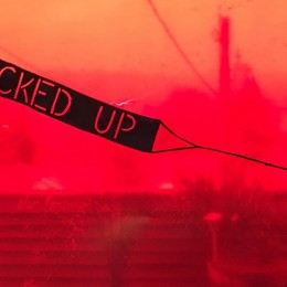 NEXT LEVEL FUCKED UP, 2016, video and mixed media installation (detail), dimensions variable, courtesy of the artist.
