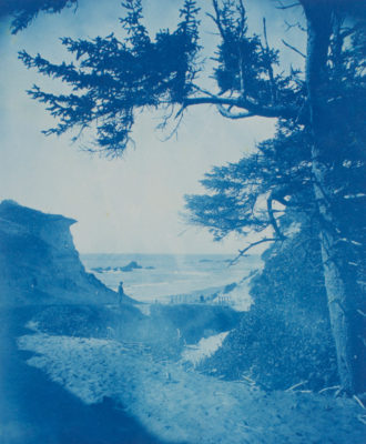Myra Albert Wiggins, Creek and Beach, 1896
