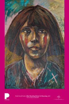Ka'ila Farrell-Smith, After Boarding School: In Mourning, 2011