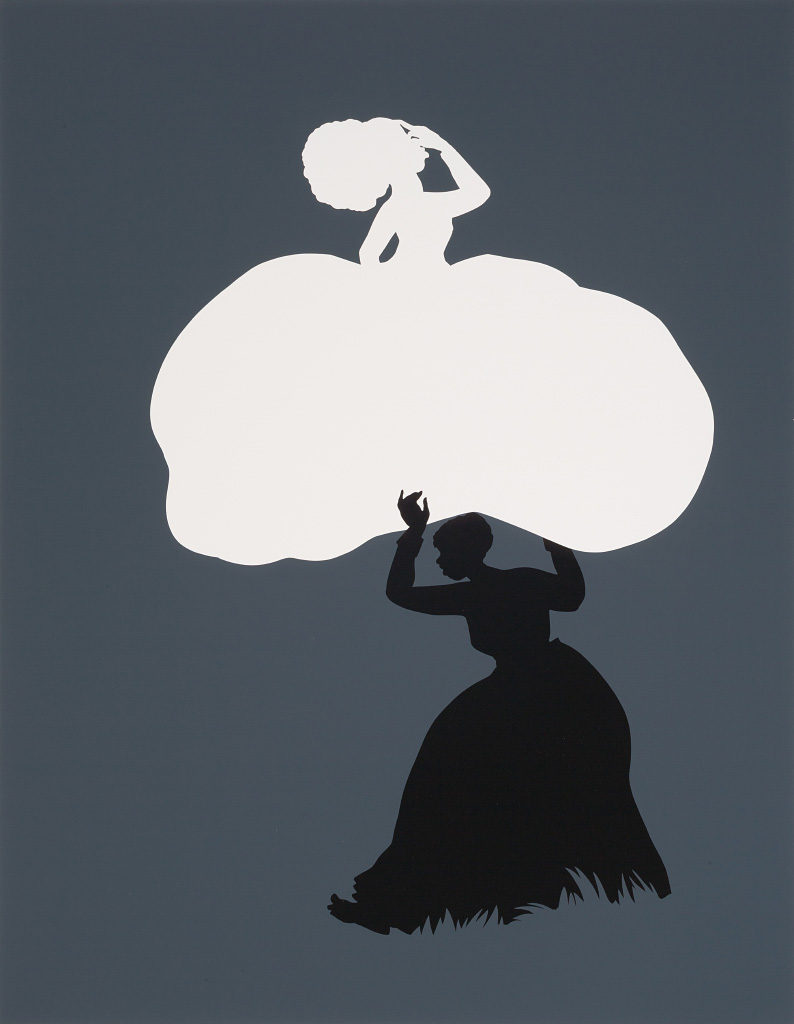 Kara Walker, The Emancipation Approximation (Scene 18), 1999–2000