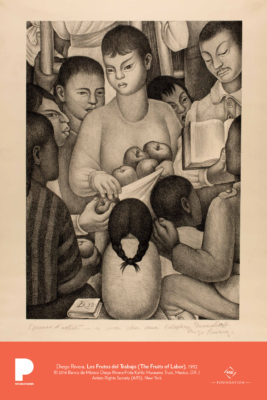 Diego Rivera, Los Frutos del Trabajo (The Fruits of Labor), 1932