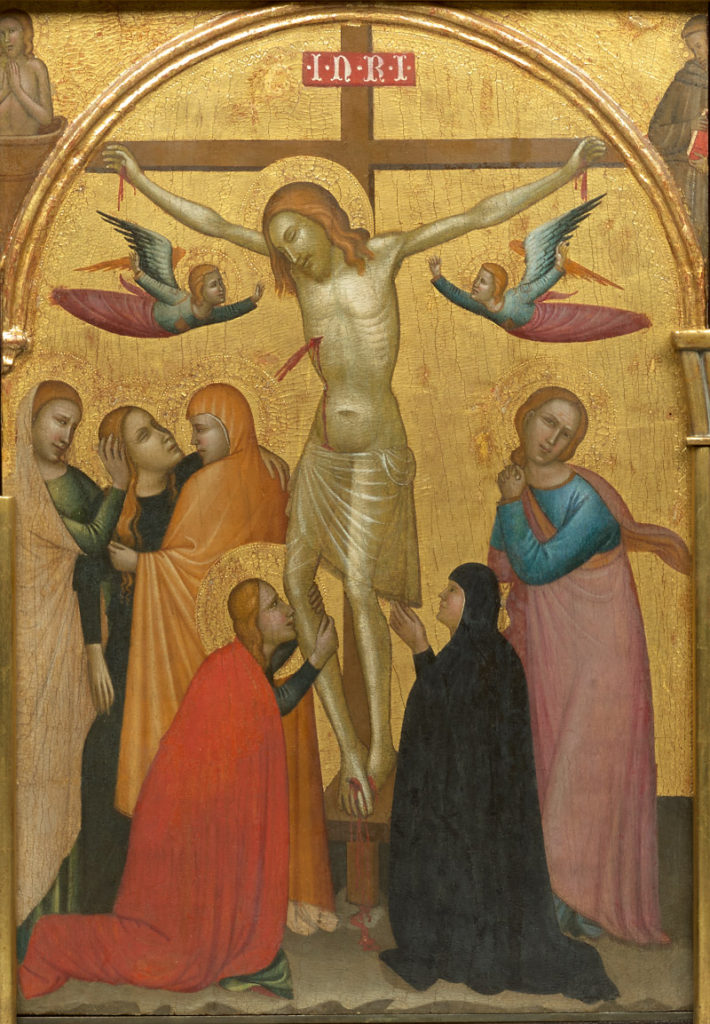 Ghissi panel, Crucifixion