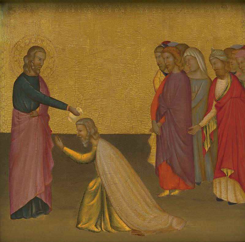 Ghissi panel, Saint John Baptizing Aristodemus