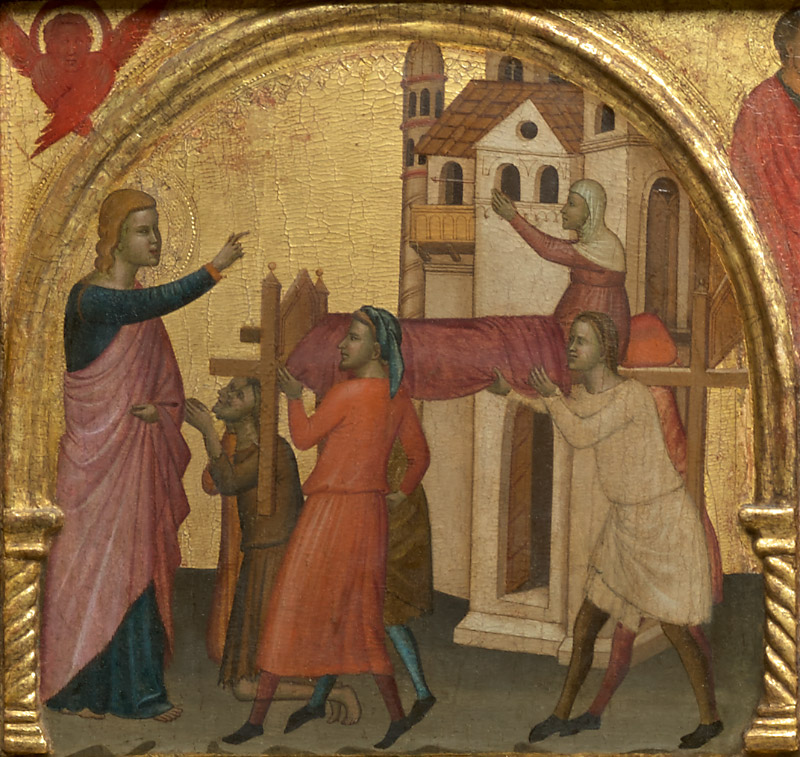 Ghissi panel, The Resurrection of Drusiana
