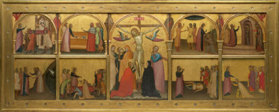 Francescuccio Ghissi, St. John Altarpiece, 1370s