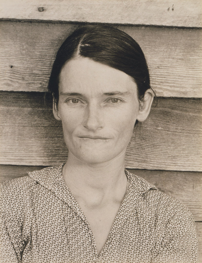 Walker Evans (American, 1903-1975), Allie Mae Burroughs, Alabama Tenant Farmer Wife, 1936
