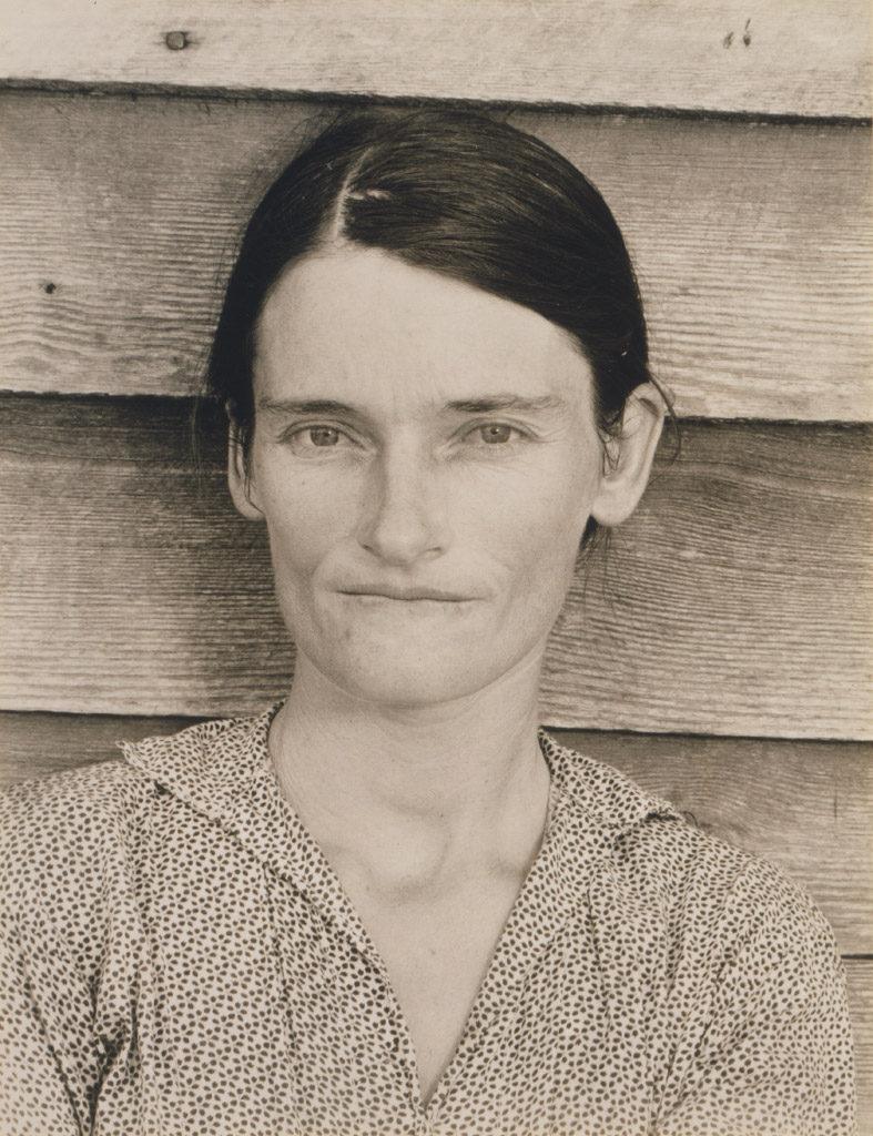 Walker Evans (American, 1903-1975), Allie Mae Burroughs, Alabama Tenant Farmer Wife, 1936