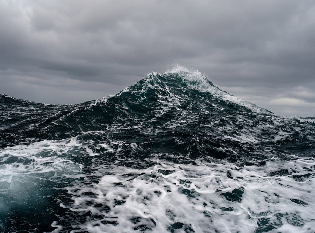 Corey Arnold, Wake and Sea, 2015