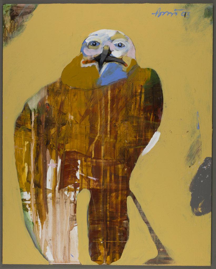 Rick Bartow, Quiet One, 2013