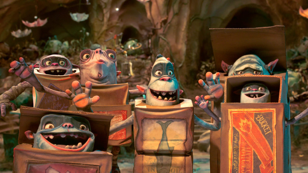 The Boxtrolls (Film Still), A band of gurgling Boxtrolls. THE BOXTROLLS ©2014, BOXTROLLS, LLC