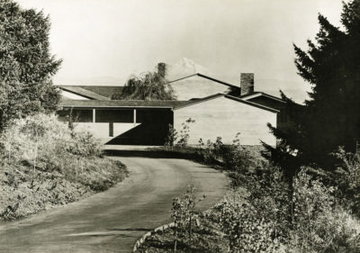 Aubrey Watzek House, Portland, Oregon, 1937; photo by Walter Boychuck, John Yeon Archive