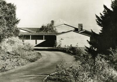 Aubrey Watzek House, Portland, Oregon, 1937; photo by Walter Boychuck, John Yeon Archive