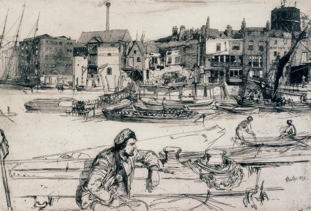 James Abbott McNeill Whistler, Black Lion Wharf