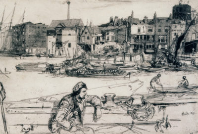 James Abbott McNeill Whistler, Black Lion Wharf
