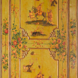 Italian (Venice), Door from the Ca'Rezzonico, Venice, ca. 1760, wood, oil lacquer, gilt; Seattle Art Museum: Gift of Richard Louis Brown, in honor of Julie Emerson, 2014.17